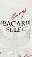 BACARDI SELECT Rocks Glasses Liquor Rum Set of 5 Bar 1996 Vintage Barware