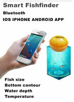 Smart Fishfinder Wireless Underwater Bluetooth Sonar Fish Finder IOS Android JX7