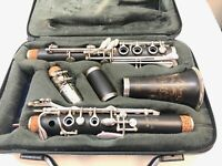 Selmer Omega wood Bb clarinet. Performance Level. New Guild And Synthetic Pads