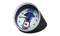 Porsche Martini Racing Table Desk Mantel Clock Watch Clock Home Decor Sporty