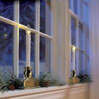LED Candle Christmas Decoration Window Light Battery Operated (4 PACK) Timer