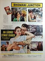 Lot of 4 Vintage MGM Movie Ads Brando McDowall Gardner Lana Turner Gene Kelly
