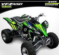 Yamaha YFZ 450 ATV Graphics Kit 2003/2004 2005/2006/2007/2008 Wrap Decal Stickes