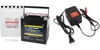 Polaris SPORTSMAN 1000 850 ACE 900 Fire Power Battery w/ Acid & Tusk Charger