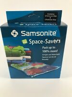 SAMSONITE Space Saver Bags 4 Pack Includes 2 Carry On amp; 2 Suitcase Size Bags