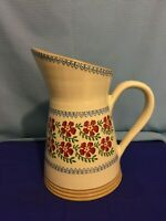 Nicholas Mosse Irish Pottery Pitcher in Old Rose Pattern