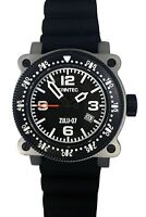 Trintec Aviation ZULU-07 PRO Men's Navigator Stainless Steel Watch w/2 x strap