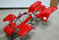 NEW Yamaha Banshee fenders front + rear plastic body 1987-2006 RED