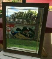 WHISKEY SIGN southern comfort whiskey mirror rare size sign