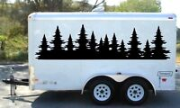 2 side decals trailer graphics decor camper wrap RV vinyl van motor homer atv