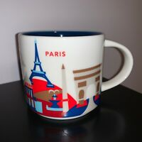 Starbucks Paris, France Coffee Mug/Cup You Are Here YAH Collection 14 oz, New