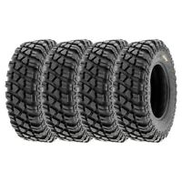 Full Set of New SunF ATV UTV QUAD SXS Tires (4) 28X10-14  28X10X14 6PR /047