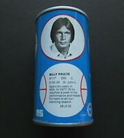 1979 NBA Basketball Royal Crown Cola RC Can Billy Paultz San Antonio Spurs