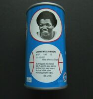 1979 NBA Basketball Royal Crown Cola RC Can John Williamson New Jersey Nets