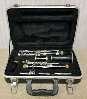 BUNDY 577 Resonite Selmer Clarinet w Hard Sided Carry Case Accessories Student