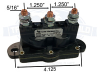ATV WINCH MOTOR SOLENOID REVERSING POLARITY RELAY SWITCH 6 TERMINAL DC CONTACTOR