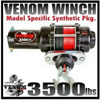 3500LB VENOM ATV Winch Polaris Sportsman 2011-20 400,500,570,800,1000