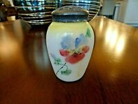MT. Mount WASHINGTON Glass Hand Painted Salt Shaker Opaque
