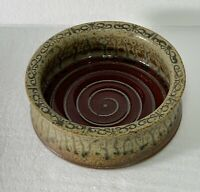 Paul Ray Pottery Seagrove North Carolina Brie Baker Bowl Cheese