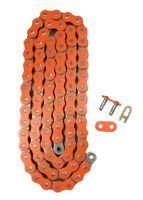 Orange 520x130 Non O-Ring Drive Chain ATV Motorcycle MX 520 Pitch 130 Links