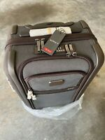 New - Tumi Alpha 3 International 4w Dual Access Carry On Suitcase - Anthracite