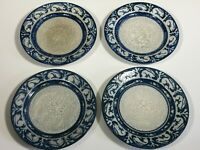 4 Antique Dedham American Art Pottery Rabbit Plates