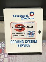 UNITED DELCO NICE SIGN CABINET 1950 60s COOLING SYSTEM STANDARD PLUS IGNITION AC