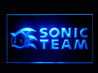 P476B Sonic Team For Game Room Display Light Sign