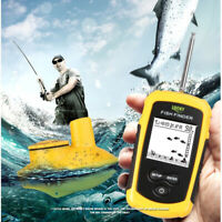 Portable Fish Finder Transducer Sonar Echo Fishfinder With Fish Attractive Lamp