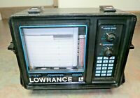 Lowrance X-15 Computer Sonar Graph Recorder Depth/Fish Finder READ 11
