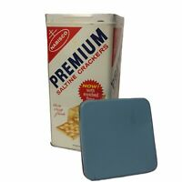 Vintage 1969 NABISCO PREMIUM SALTINE CRACKER Tin Container