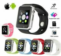 Smart Wrist Watch A1 Camera Bluetooth GSM Phone For iPhone Android Samsung LG US $12.65