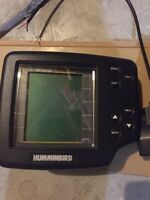 Humminbird Wide One Hundred Fish Finder Power Cord and Transducer