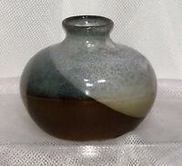 "MCM Pottery Craft USA Handcrafted Stoneware BUD VASE 3"" Robert Maxwell P C PC"
