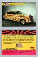 Biggest Deal Old Wheels #17 Guinness Book Of Records 1992 Pro Set Trading Card