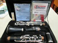 Buffet E11 Clarinet Beautiful Cleaned Fully Serviced Silver Keys more