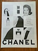 1962 Chanel No 5 Perfume Ad Every Woman Alive Wants