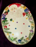 Large 17quot; Christmas platter Dept 56
