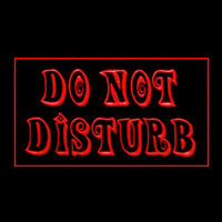 120190 Do Not Disturb Anti Sonic Booms Workplace Display LED Light Sign