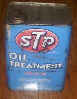 STP Oil Treatment Metal Can NASCAR Colors 1979 of Richard Petty *Dented