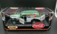 Matchbox Coca Cola 1940 Ford Sedan Delivery Coke Van Large Scale Diecast Truck