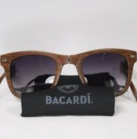Folding Pocket 😎 Sunglasses 😎 Woodgrain Compact Fold Up Brown Bacardi Glasses