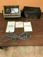Lowrance LRG 605A Flasher Graph with cover power cord and extras