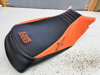can am can am outlander 570 650 800 1000 seat cover ORANGE THREAD AND X LOGO