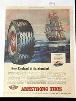 1945 ARMSTRONG Tire Advertisement