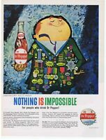 1960 People Who Drink Dr Pepper Can Do Anything Print Ad