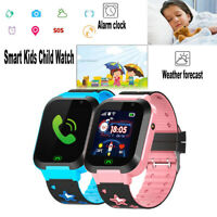 Anti lost Smart Watch GPS Tracker SOS Call Camera Gift For Child Kids Waterproof $16.99