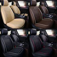 Car 5 Seat Covers Full Set Waterproof Leather Universal for Auto Sedan SUV Truck $79.99