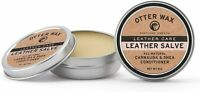Otter Wax Leather Salve 2oz All Natural Universal Conditioner Made in USA $19.49