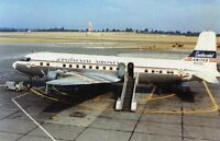 CONTINENTAL AIRLINES DC 6 UNITED ON THE TAIL AIRPORT AIRPLANE AIRCRAFT #2